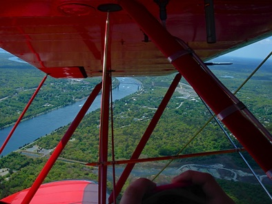 Biplane rides over beautiful Cape Cod!