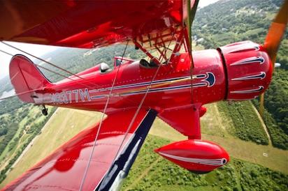 biplane rides aerial advertising   Cape Cod Airfield